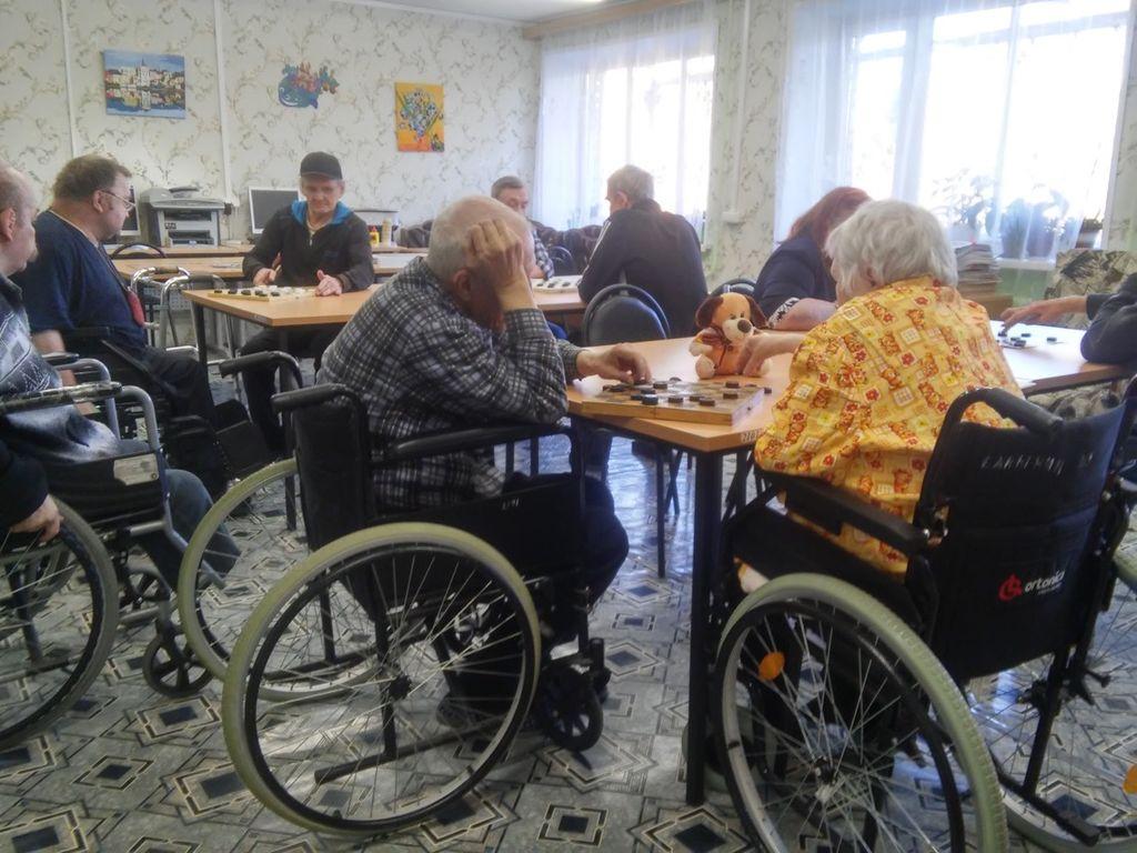 отчет о дне пожилого человека в доме культуры