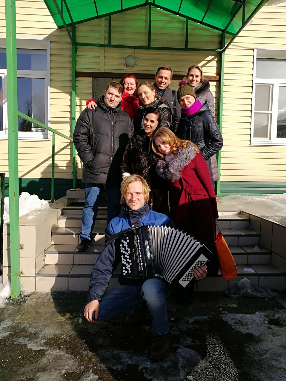 Волонтерская поездка в дом престарелых дома для пожилых в екатеринбурге