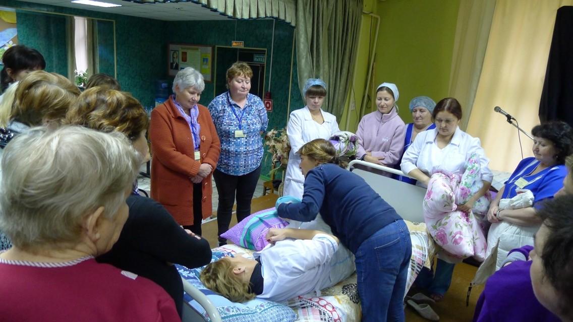 Вакансии дом престарелых ржев работа в москве частном доме